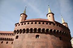 Brama Florianska, строб средневекового Краков стоковая фотография rf
