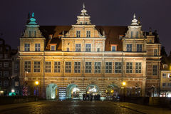 Brama gdansk de Zielona imagem de stock royalty free