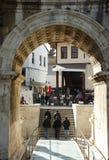 brama hadrian s Zdjęcie Royalty Free