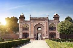 Brama Itmad-Ud-Daulah ` s Grobowcowy dziecko Taj Agra, Uttar Pradesh, India Fotografia Royalty Free