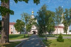Brama kościół archanioł Michael Obrazy Stock