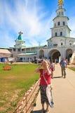 Brama kościół 2007 23 czerwca Jerusalem klasztor nowego Rosji Istra przypuszczenia katedralna dmitrov Kremlin Moscow pocztówkowa  Zdjęcia Stock