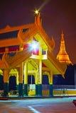 Brama Mahavijaya pagoda, Yangon, Myanmar obraz royalty free