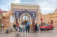 Brama Medina w fezie, Maroko Obraz Royalty Free
