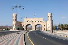 Brama miasto Nizwa, Oman Obrazy Royalty Free