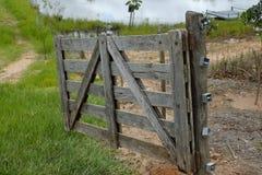 Brama na gospodarstwie rolnym Obrazy Stock
