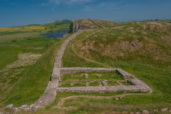 Brama na Hadrians ścianie Obrazy Stock
