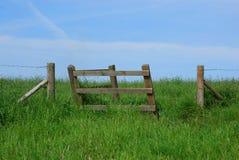 brama obszarów wiejskich Obraz Royalty Free
