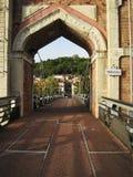 Brama od mosta w trevoux Fotografia Stock