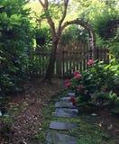 brama ogrodowa zdjęcie royalty free
