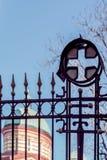 Brama ortodox kościół Zdjęcie Royalty Free