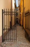 brama otwarta Fotografia Stock