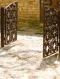 brama otwarta Zdjęcia Stock