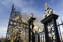 brama ozłacająca obraz stock