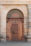 brama pradawnych drewniana Zdjęcie Stock