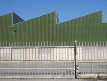 brama przemysłowej Zdjęcia Stock
