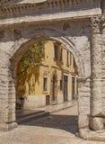 brama rzymski Verona obrazy royalty free