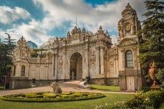Brama skarbiec, Dolmabahce pałac, Istanbuł, Turcja obraz royalty free