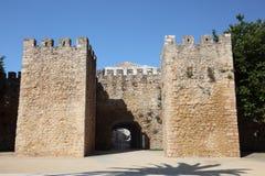brama stara miasteczko Zdjęcia Royalty Free