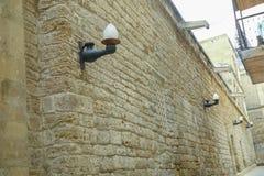 Brama stary forteca, wejście Baku stary miasteczko Baku, Azerbejdżan Ściany Stary miasto ja Zdjęcie Stock