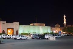 Brama stary miasteczko Nizwa, Oman Zdjęcia Royalty Free