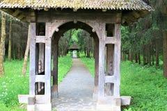 brama tradycyjnej Zdjęcie Royalty Free