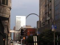 Brama łuku St Louis obrazy royalty free