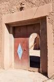 Brama w starym miasteczku Marrakesh Obraz Stock
