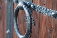Brama widok od ulicy Zdjęcie Royalty Free