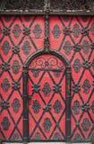 Brama z ornamentami Obrazy Royalty Free