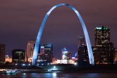 Brama Zachodni St Louis łuku Missouri zabytek zdjęcia stock