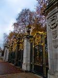 Brama Zielony park w Londyn Zdjęcia Stock