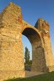 brama zmierzch lekki stary rzymski zdjęcie royalty free