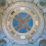 Bramante ` s Tempietto i kyrkan av San Pietro i Montorio i Rome, Italien arkivbild