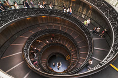 Bramante Staircase Royalty Free Stock Photography