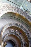 Bramante staircase Stock Photo