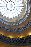 Bramante staircase Stock Photos