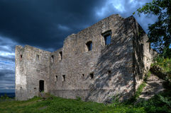 bramberg kasztelu ruina fotografia royalty free