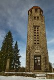 Bramberk в Lucany nad Nisou - чехии стоковое фото