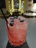 Bramble cocktail royalty free stock images