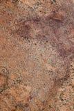 Brame rouge de granit Image libre de droits