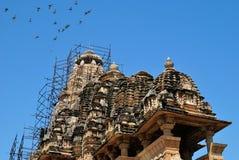 Bramha świątynia - Khajuraho Obrazy Stock