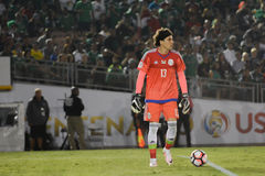 Bramkarz Guilhermo Ochoa podczas Copa Ameryka Centenario Obrazy Royalty Free