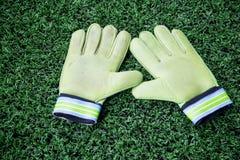 Bramkarz rękawiczki Fotografia Stock