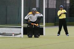 bramkarza hokej Zdjęcie Royalty Free