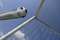 bramkowa balowa futbolowej piłka nożna zdjęcia royalty free