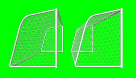 bramkowa piłka nożna Obrazy Stock