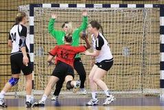 bramkowy handball Fotografia Royalty Free