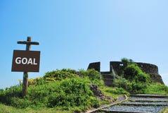 bramkowy signage zdjęcia stock