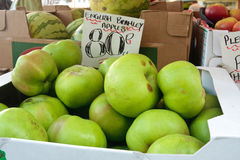 Bramley apples Stock Image